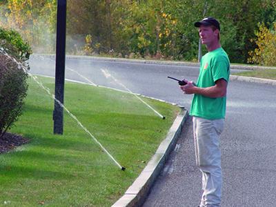 Spring startup - Check sprinklers