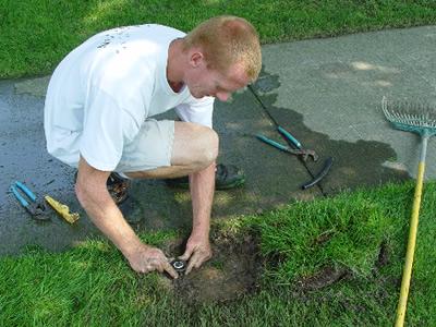Spring startup - Repair Sprinklers