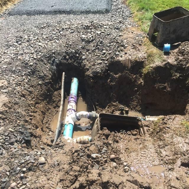 Lawn Pipe Repair